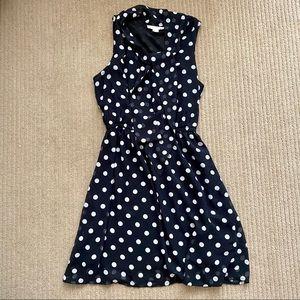 FOREVER 21 Black and White Polka Dot Dress